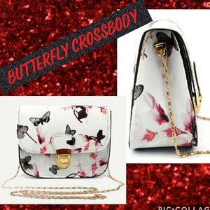 Handbags - 🦋 Butterfly crossbody bag New in package!